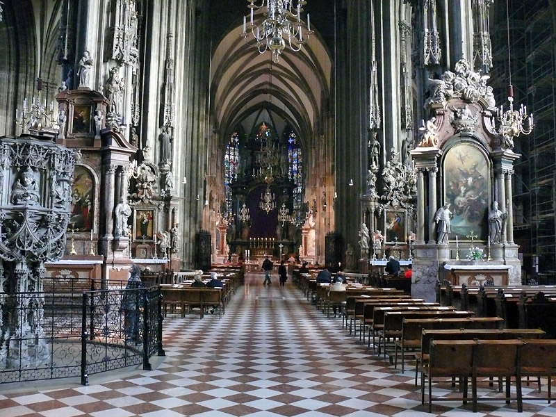 It Was Emperor Frederick The III Who Convinced Pope In 1469 To Grant Vienna A Bishop And Establish Former Parish Church As Cathedral Inside